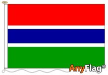 - GAMBIA ANYFLAG RANGE - VARIOUS SIZES